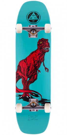 "Welcome Featherless On Wormtail Skateboard Complete - 8.4"" - Teal"