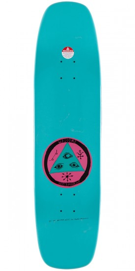 """Welcome Featherless On Wormtail Skateboard Deck - 8.4"""" - Teal"""