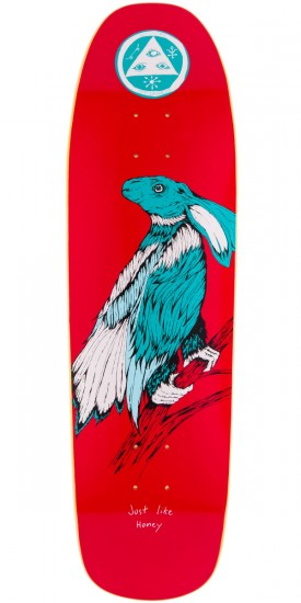 Welcome Friends 4 Life On Magic Mace Skateboard Deck - 9.0""