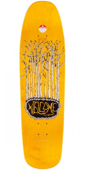 """Welcome Friends 4 Life On Magic Mace Skateboard Complete - 9.0"""""""