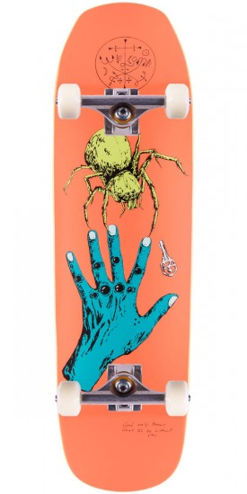Welcome Gateway on Banshee 90 Skateboard Complete - Peach - 9.00""