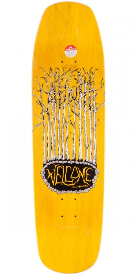 Welcome Gateway on Banshee 90 Skateboard Deck Skateboard Deck - Peach - 9.00""