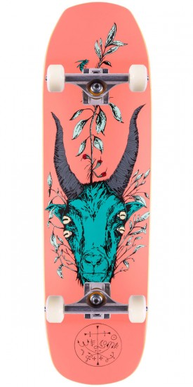 Welcome Goathead On Banshee 90 Skateboard Complete - Pink - 9.00""