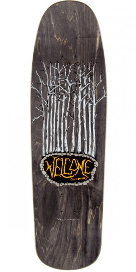 "Welcome Goathead On Slappy Slap Skateboard Deck - 9.5"" - Black"