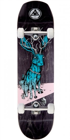 Welcome Help on Helm of Awe 2.0 Skateboard Complete - Pink/Teal - 8.38