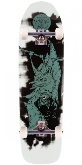 Welcome Infinitely Batty On Basilisk Skateboard Complete - 8.8 - White Dip