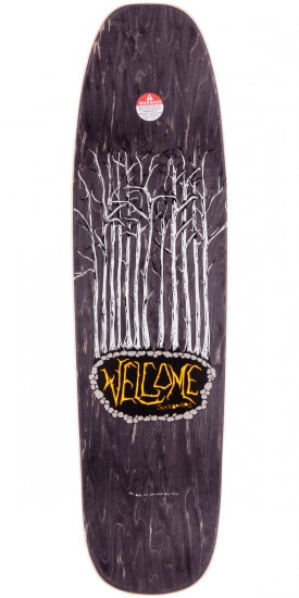 Welcome Infinitely Batty on Nimbus 5000 Skateboard Complete - Oxblood  - 8.75""