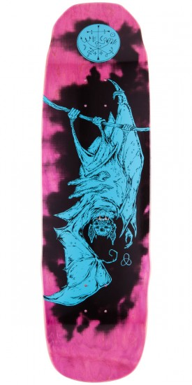 Welcome Infinitely Batty On Sledgehammer Skateboard Deck - Pink Stain - 9.0""