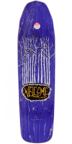Welcome Jackalope On Basilisk Skateboard Complete - Black - 8.80""