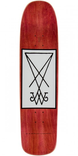 Welcome Krampus Skateboard Complete - Black - 8.25""