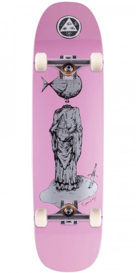 Welcome Light-Headed on Stonecipher Skateboard Complete - Pink Dip - 8.6""