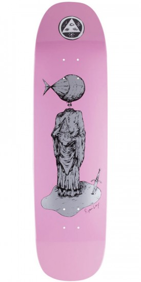 Welcome Light-Headed on Stonecipher Skateboard Deck - Pink Dip - 8.6""
