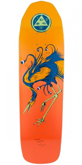 Welcome Love Watcher On Basilisk Skateboard Deck - Orange Fade - 8.80""