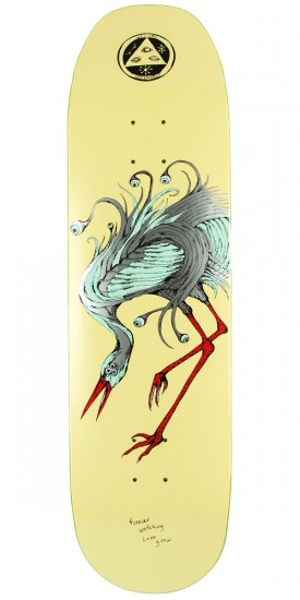 """Welcome Lovewatcher on Baculus Skateboard Deck - Cream - 8.75"""""""