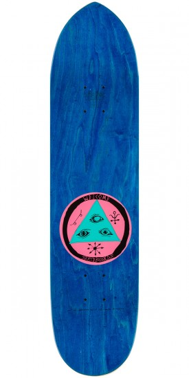 Welcome Lovewatcher Skateboard Complete - Black - 8.25""