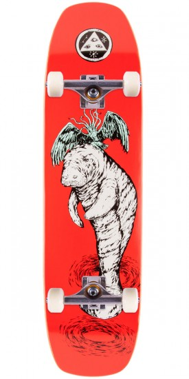 Welcome Mermaid on Wormtail Skateboard Complete - 8.4""