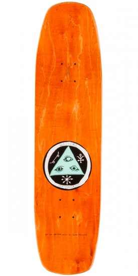"""Welcome Mermaid on Wormtail Skateboard Deck - 8.4"""""""