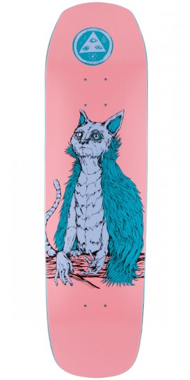 Welcome Owl Cat On Helm of Awe(Sum) Skateboard Deck - Pink - 8.40""