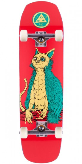 Welcome OwlCat On Helm of Awe(Sum) Skateboard Complete - Rose - 8.40""