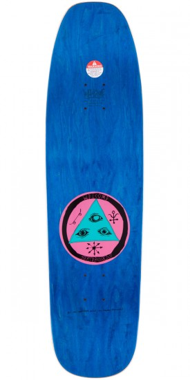 Welcome Rhiannon On Nimbus 5000 Deck - Oxblood - 8.75""