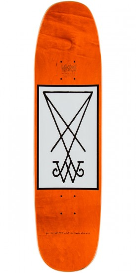 Welcome Rhiannon On Son of Moontrimmer Skateboard Complete - 8.25 - White