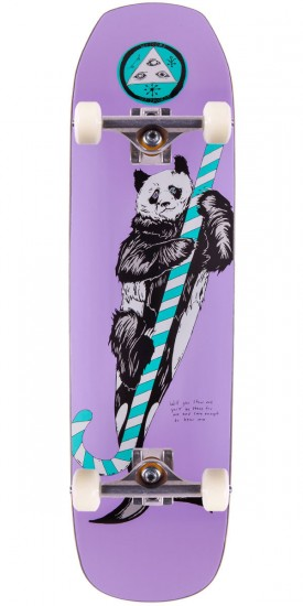 "Welcome Sea Bear On Banshee 86 Skateboard Complete - 8.6"" - Lavender"