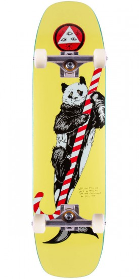 Welcome Sea Bear On Wormtail Skateboard Complete - 8.4 - Yellow