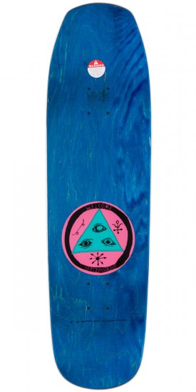 Welcome Sloth On Banshee 90 Skateboard Complete - Blue Stain - 9.0""