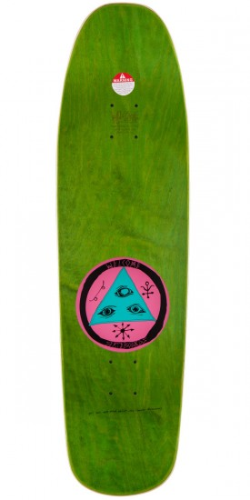 "Welcome Sloth On Magic Mace Skateboard Deck - 9.0"" - Teal"