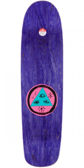 Welcome Sloth On Waxing Moon Skateboard Complete - Ice Blue - 8.50""