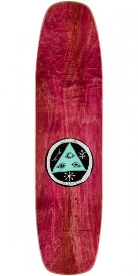 Welcome Sloth Skateboard Deck - Coral - 8.4""