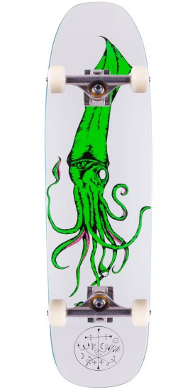 """Welcome Squid On Nimbus 3000 Skateboard Complete - 8.5"""""""