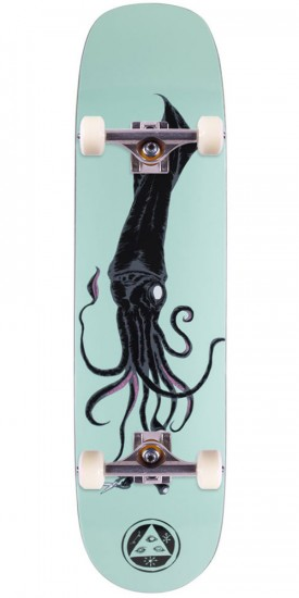 Welcome Squid on Phoenix Skateboard Complete - Teal - 8.0""