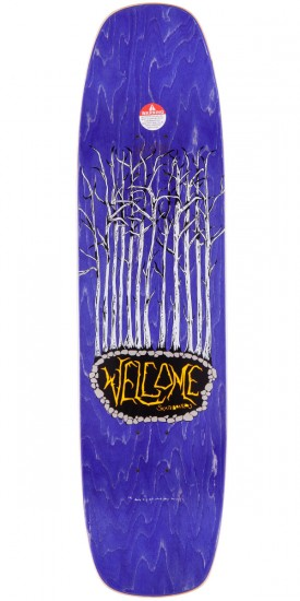 """Welcome Swoop and Snag On Wormtail Skateboard Deck - White - 8.40"""""""