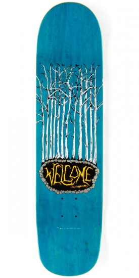 """Welcome Triger on Bunyip Skateboard Deck - Teal/Red - 8.00"""""""