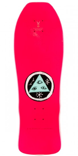 Welcome Triger on Early Grab Skateboard Deck - Pink - 10.0""