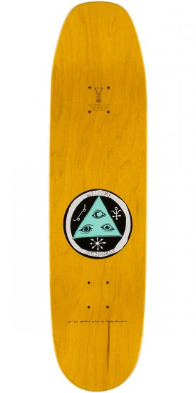 Welcome Triger Skateboard Complete - Teal - 8.5""
