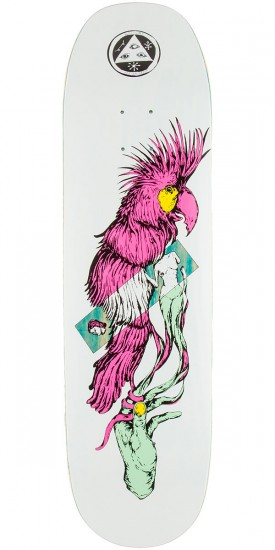 "Welcome Wildest Dreams on Moontrimmer 2.0 Skateboard Deck - 8.5"" - Blue Stain"