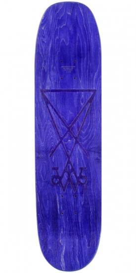 "Welcome Wildest Dreams on Moontrimmer 2.0 Skateboard Complete - 8.5"" - Purple Stain"