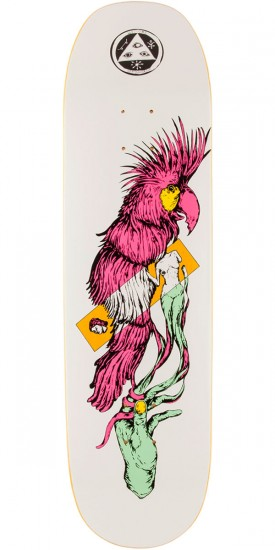 "Welcome Wildest Dreams on Moontrimmer 2.0 Skateboard Deck - 8.5"" - Yellow Stain"