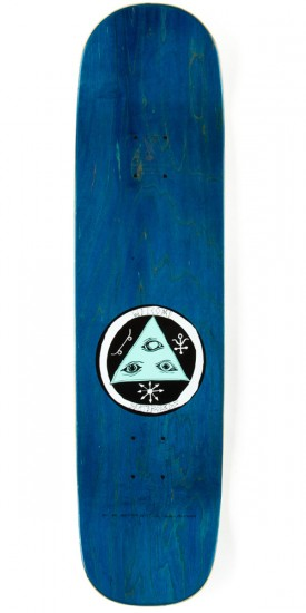 Welcome Wildest Dreams on Yung Nibiru Skateboard Complete - White/Blue - 8.25""