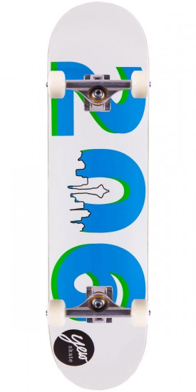 Yew 206 Area Code Skateboard Complete