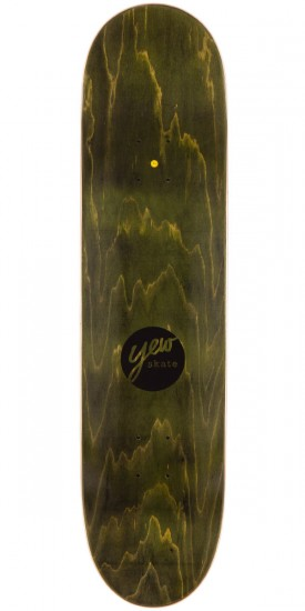 Yew 503 Area Code Skateboard Deck - 8.5""