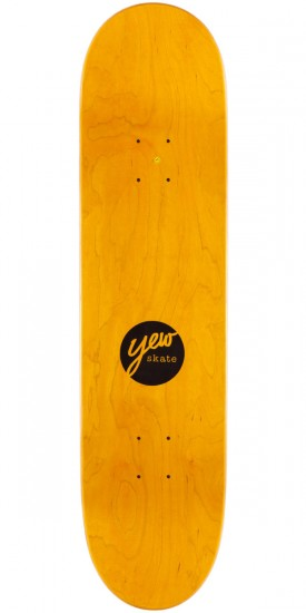 Yew Cold Ones Skateboard Complete - Gold