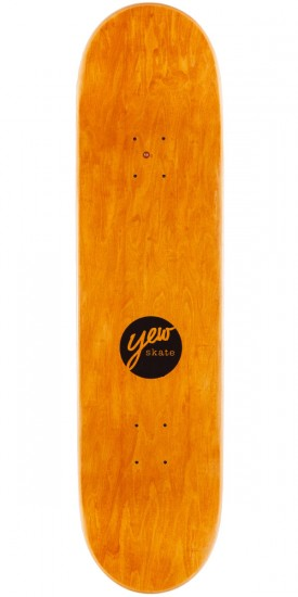 Yew Cold Ones Skateboard Deck - Green - 8.25""