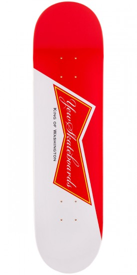 Yew Cold Ones Skateboard Deck - Red