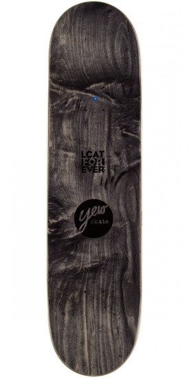 Yew Dog Tongue Skateboard Deck - 8.5""