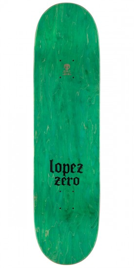 Zero Adrian Lopez Stained Glass Re-Issue Skateboard Complete - 8.375""