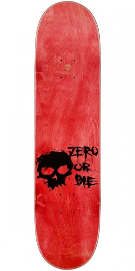 Zero Blood K/O Skateboard Complete - Teal Stain - 8.125""