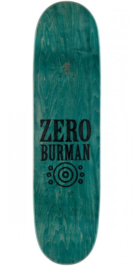 Zero Dane Burman Deliverance Skateboard Deck - 8.5""